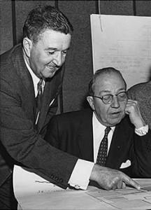 Photo of two gentlemen working otgether