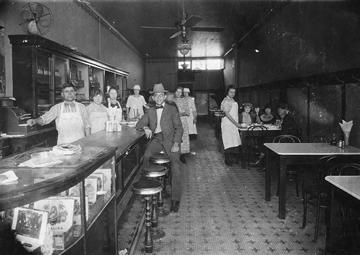 Photo of a restaurant team
